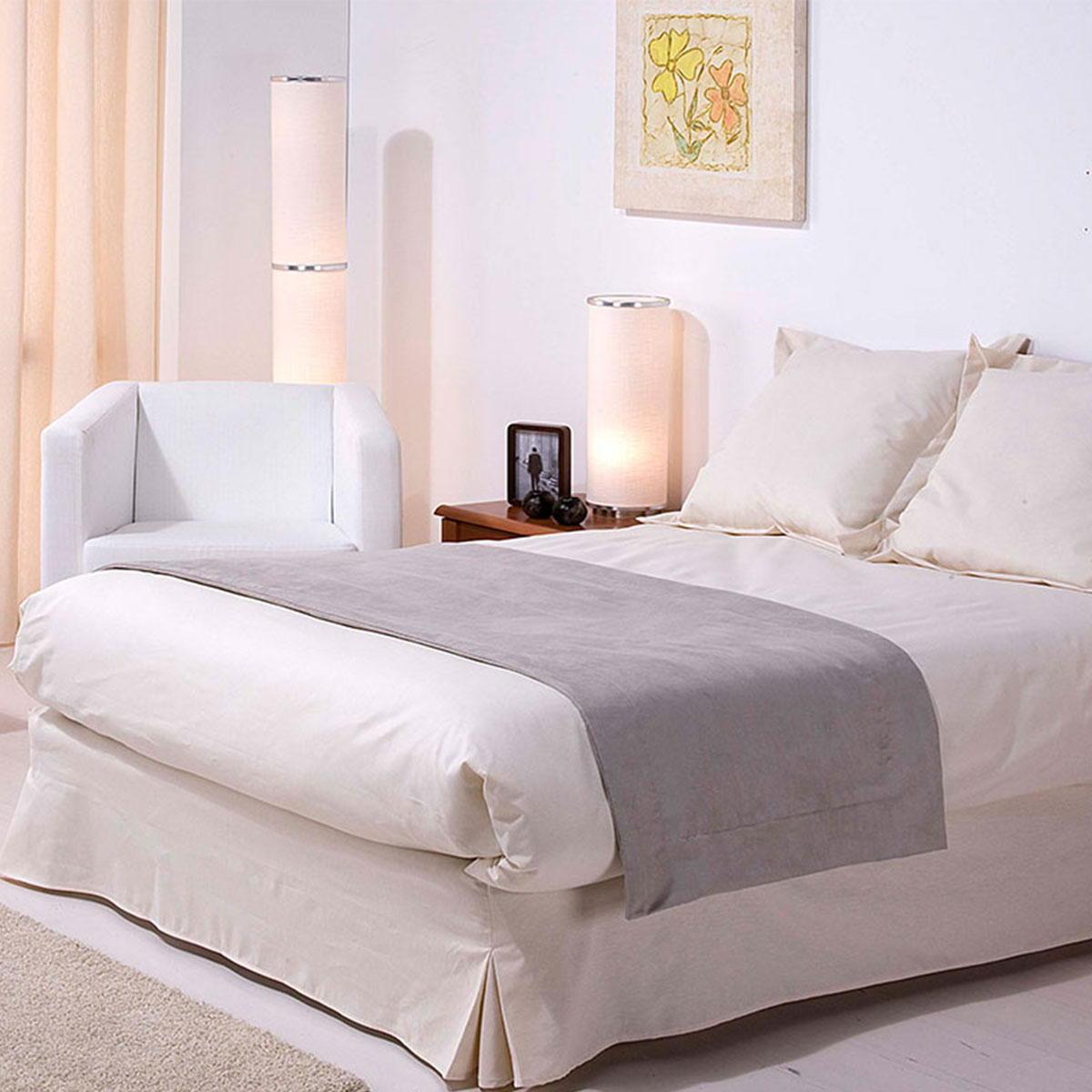 chemin de lit tildou r versible standard textile. Black Bedroom Furniture Sets. Home Design Ideas