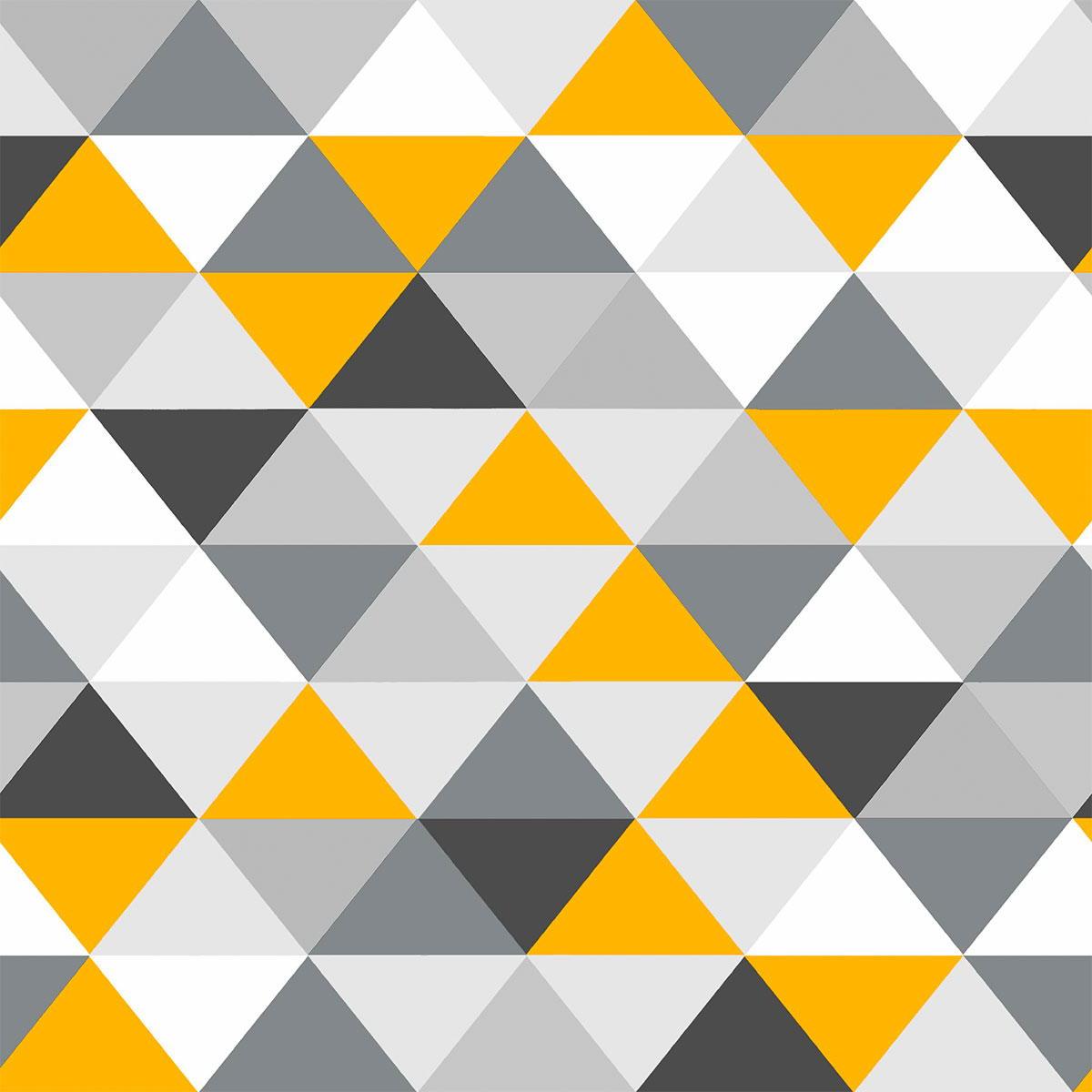 couvre lit moutarde Couvre lit Norvège matelassé motifs triangles   Standard Textile couvre lit moutarde