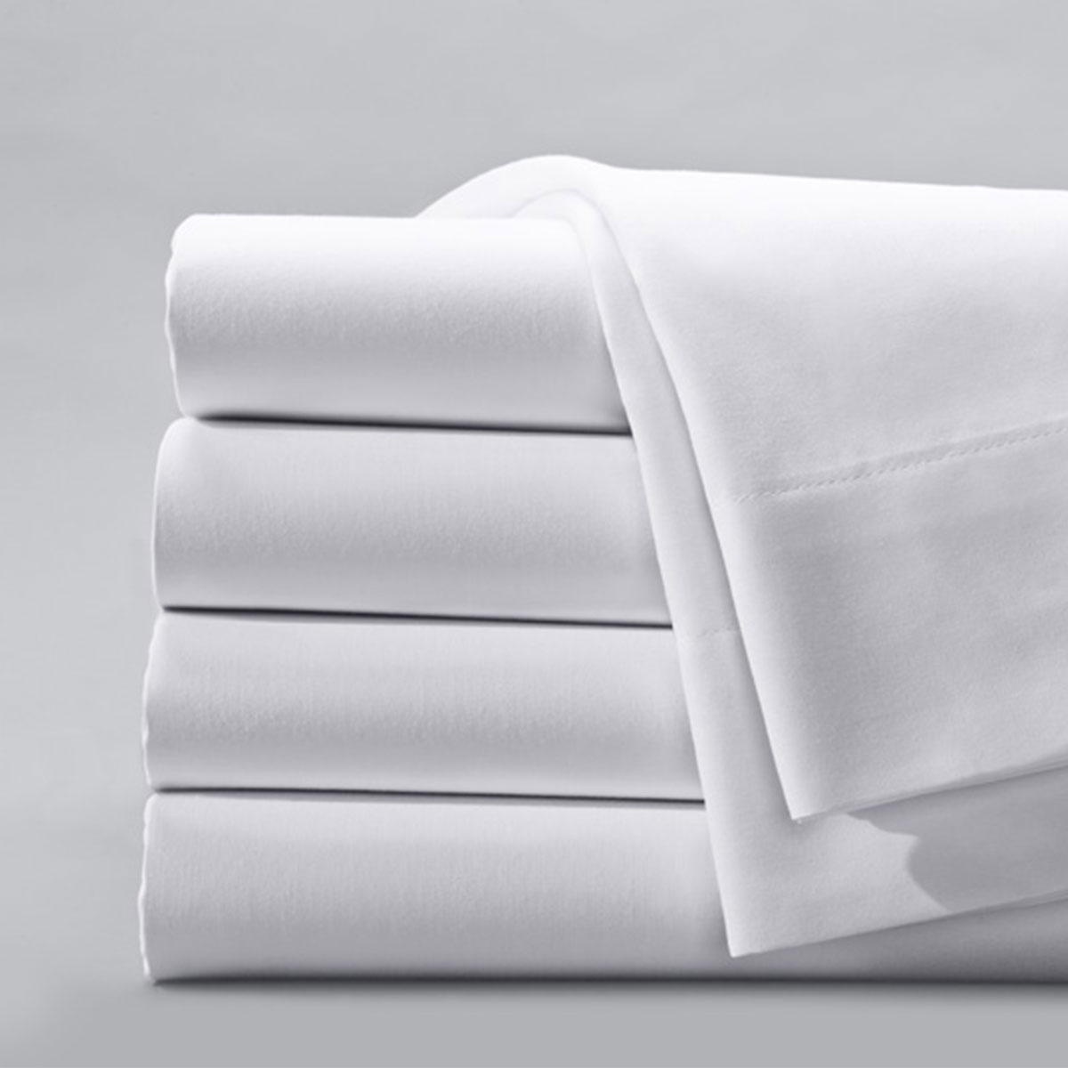 Drap plat C130 Blanc