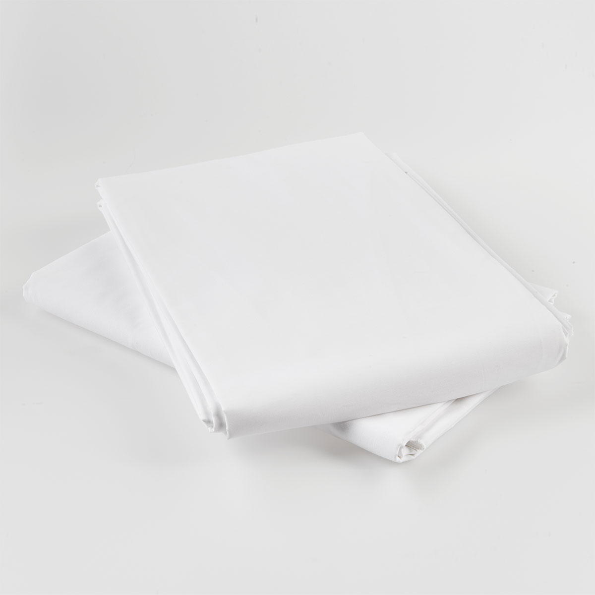 Housse de couette pcn blanc standard textile for Housse de couette blanc