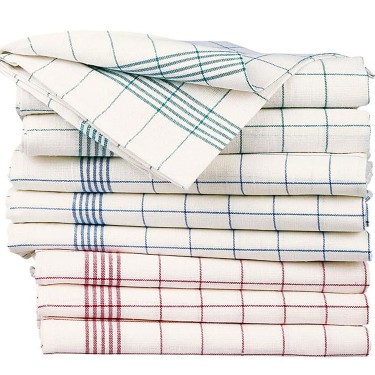 torchon sofia en lin et coton avec rayures standard textile. Black Bedroom Furniture Sets. Home Design Ideas