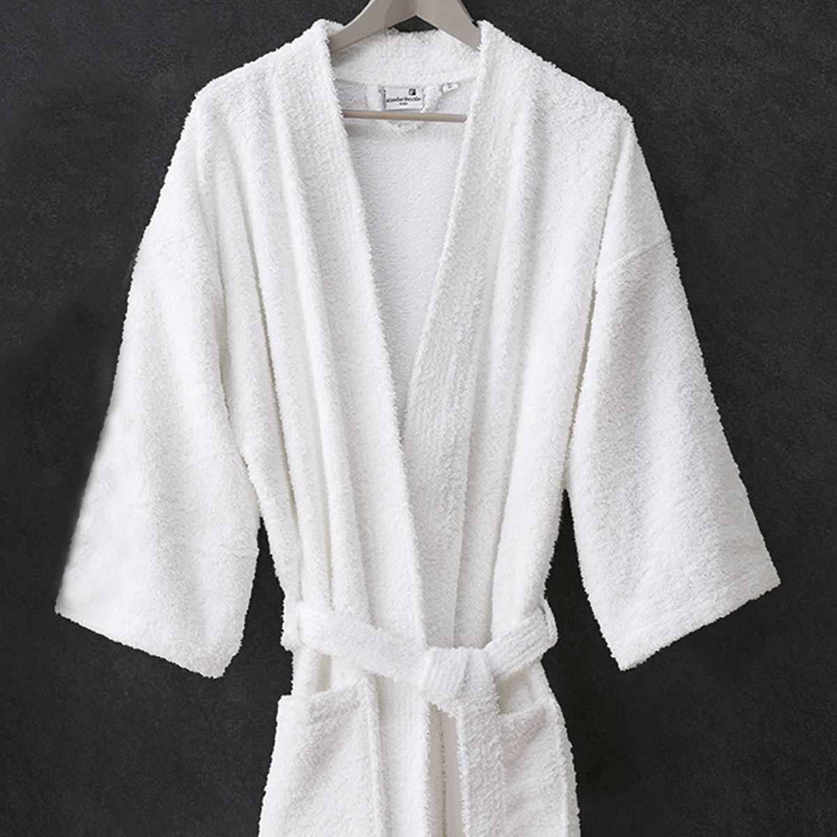 peignoir paola col kimono boucle intirable standard textile. Black Bedroom Furniture Sets. Home Design Ideas