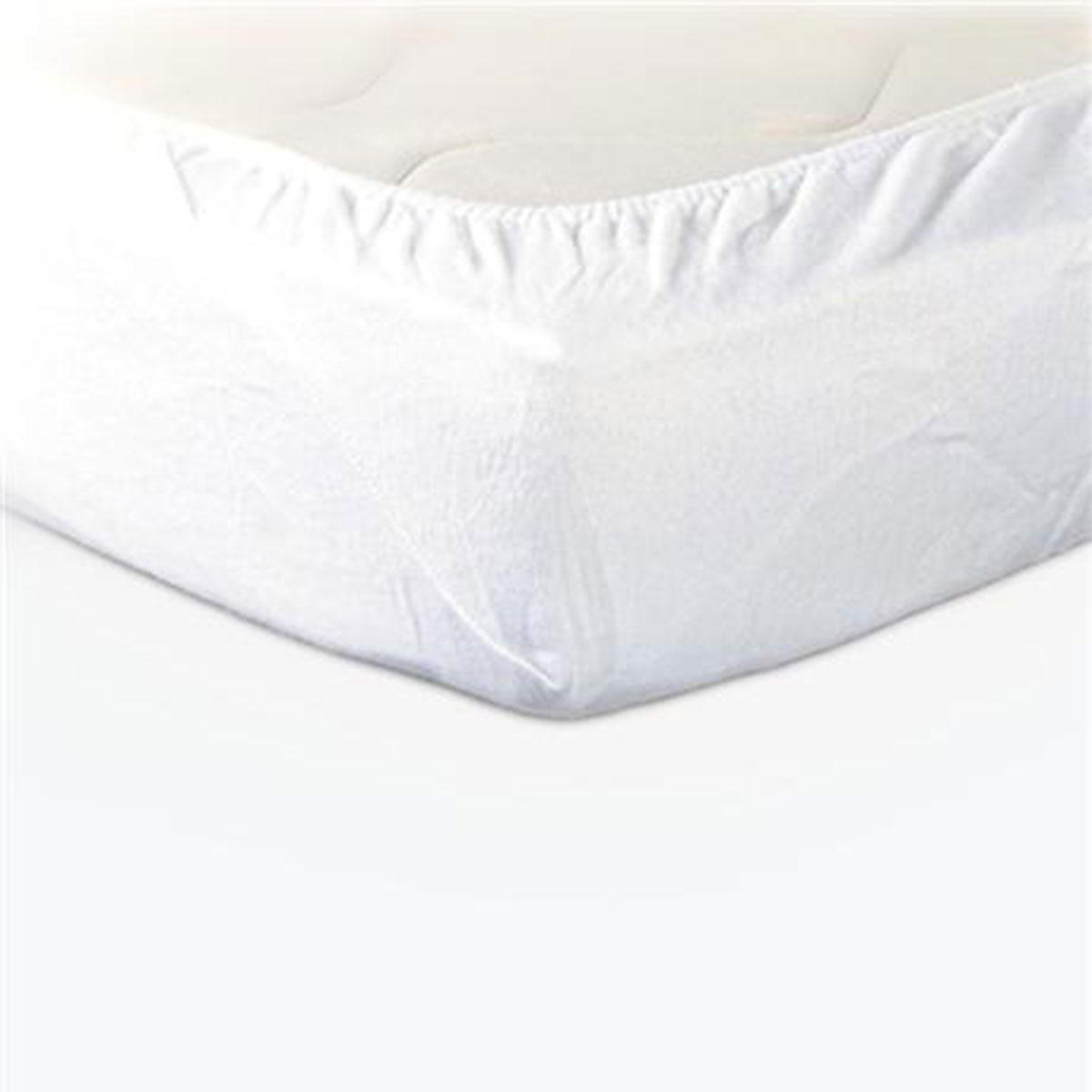 Prot ge matelas molleton pu imperm able standard textile for Drap housse 80x190