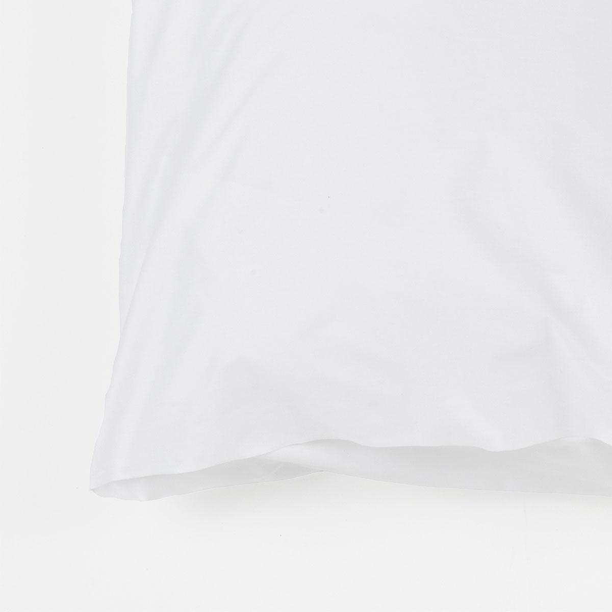 taie d 39 oreiller sac avec portefeuille pcn blanc standard. Black Bedroom Furniture Sets. Home Design Ideas