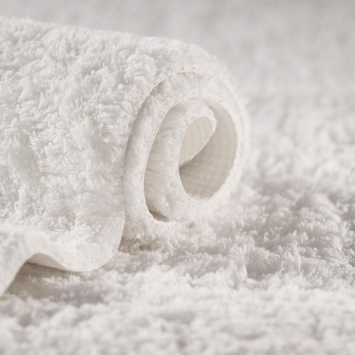 Tapis De Bain Antiderapant Blanc Standard Textile